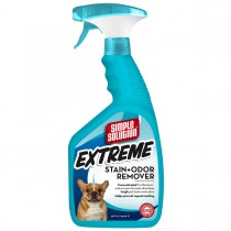 "Simple Solution Extreme Stain and Odor Remover 32oz 2.9"" x 4.8"" x 10.75"""
