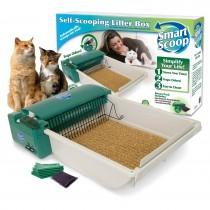 Our Pets Deluxe SmartScoop Self-Scooping Litter Box - 1550012613