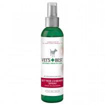"""Vet's Best Bitter Cherry Dog Deterrent Spray 7.5oz Green 2"""" x 2"""" x 7.25"""""""