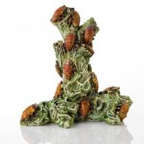 "BioBubble Decorative Madagascar Roach Tower 6.5"" x 5.25"" x 7.5"" - BIO-60304200"