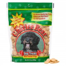 Charlee Bear Dog Treat Cheese and Egg 16oz