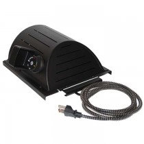 """AKOMA Dog Products Hound Heater Dog House Furnace Deluxe with Cord Protector 110-volt 10"""" x 10"""" x 4.5"""" - HHF-PC"""