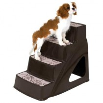 "Petmate Pet Step II Brown 23.2"" x 16.1"" x 20"""